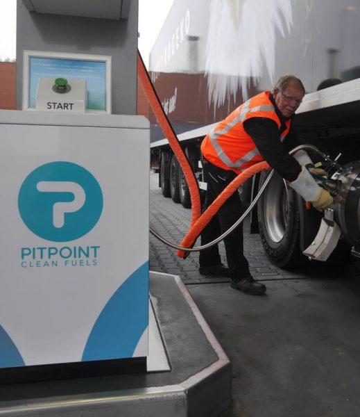 Freon PitPoint gaat in Nederland volledig groengas op haar tankstations aanbieden