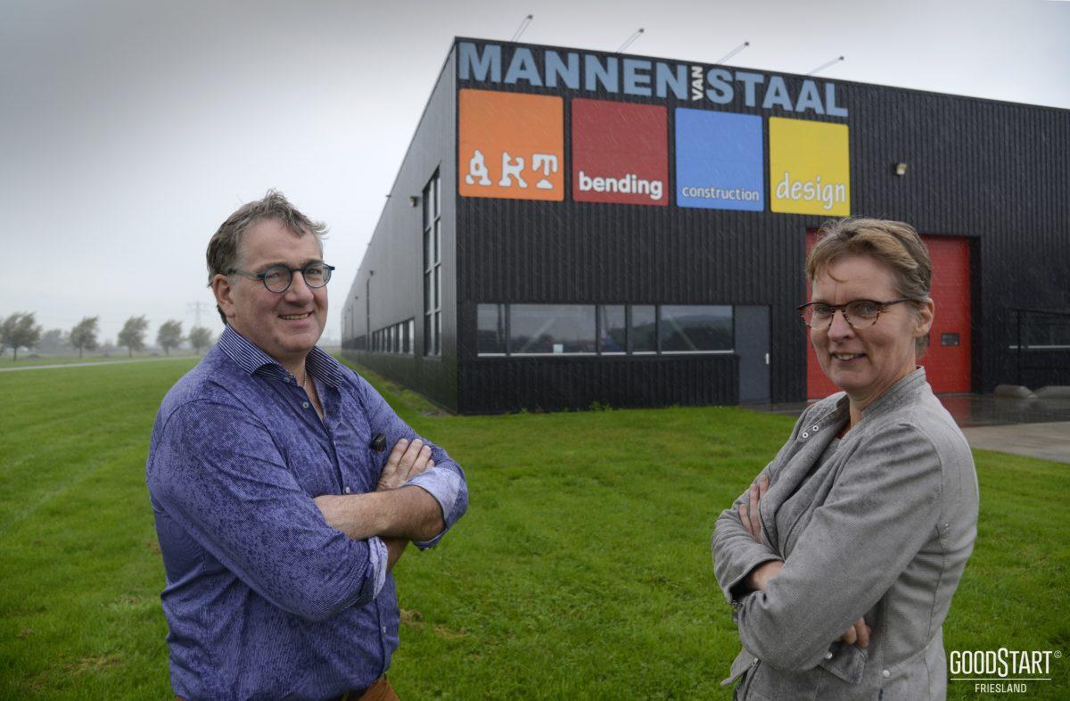 Friesch Dagblad op bezoek bij Freon Mannen van Staal