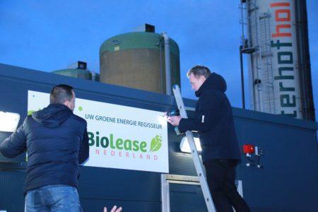 Biolease opening biogasinstallatie 13 december