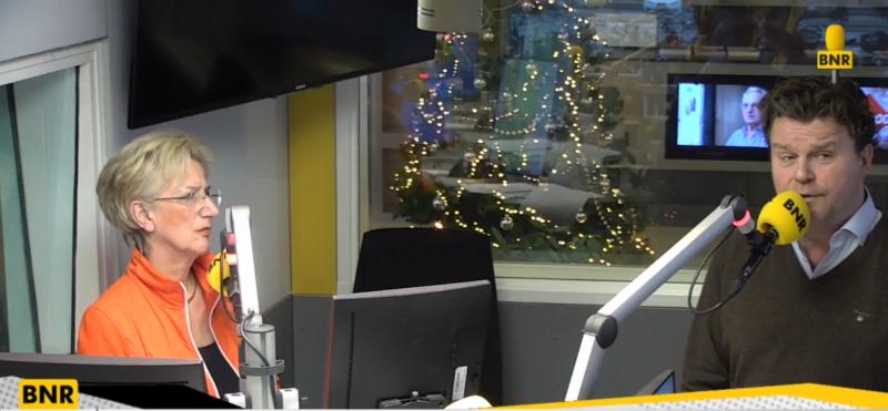 Screenshot Marcel Borger bij BNR Nieuwsradio