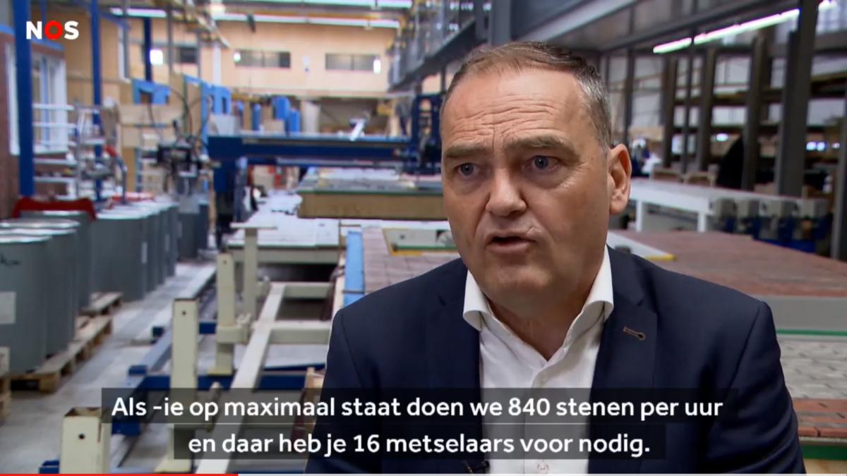 Freon Bouwgroep Dijkstra Draisma in NOS Journaal