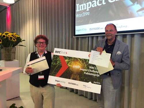 Freonen Hoekstra en Van der Kooy winnen publieksprijs NRC