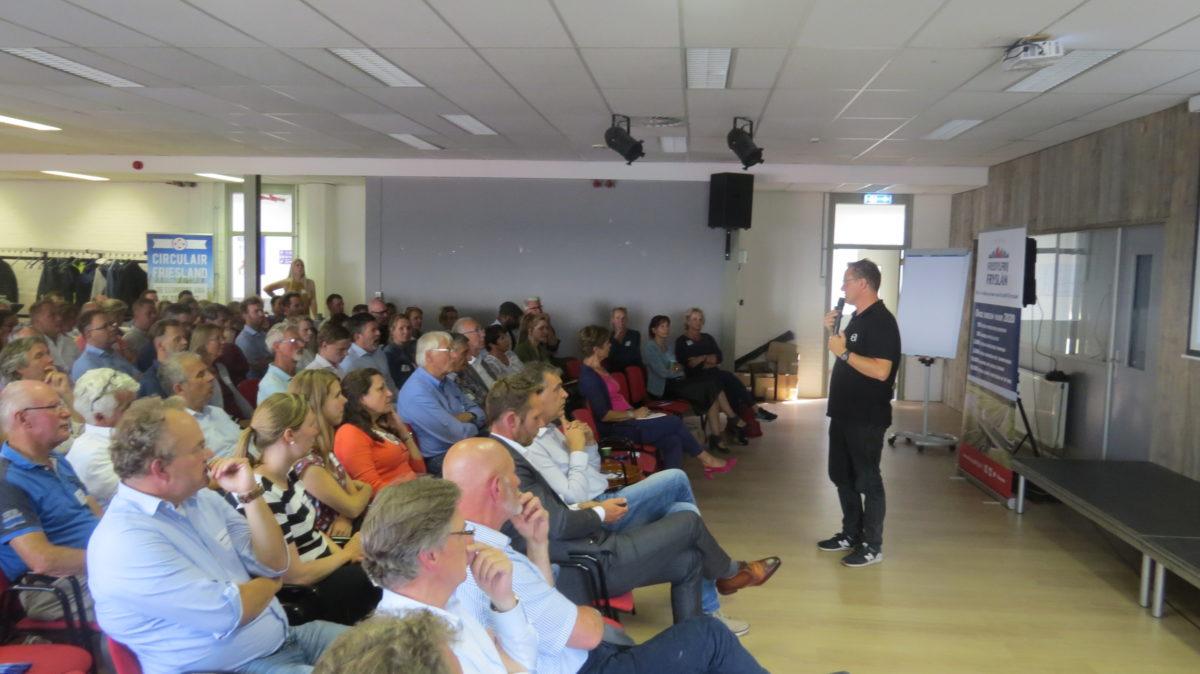 Zomerborrel Freonen en Circulair Friesland groot succes