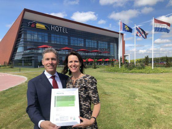 Van der Valk Hotel Leeuwarden duurzaamste van Nederland