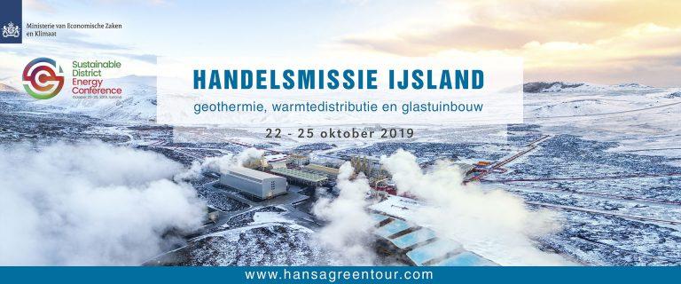 Freon Hansa Green Tour organiseert handelsmissie naar IJsland van 22 - 25 oktober