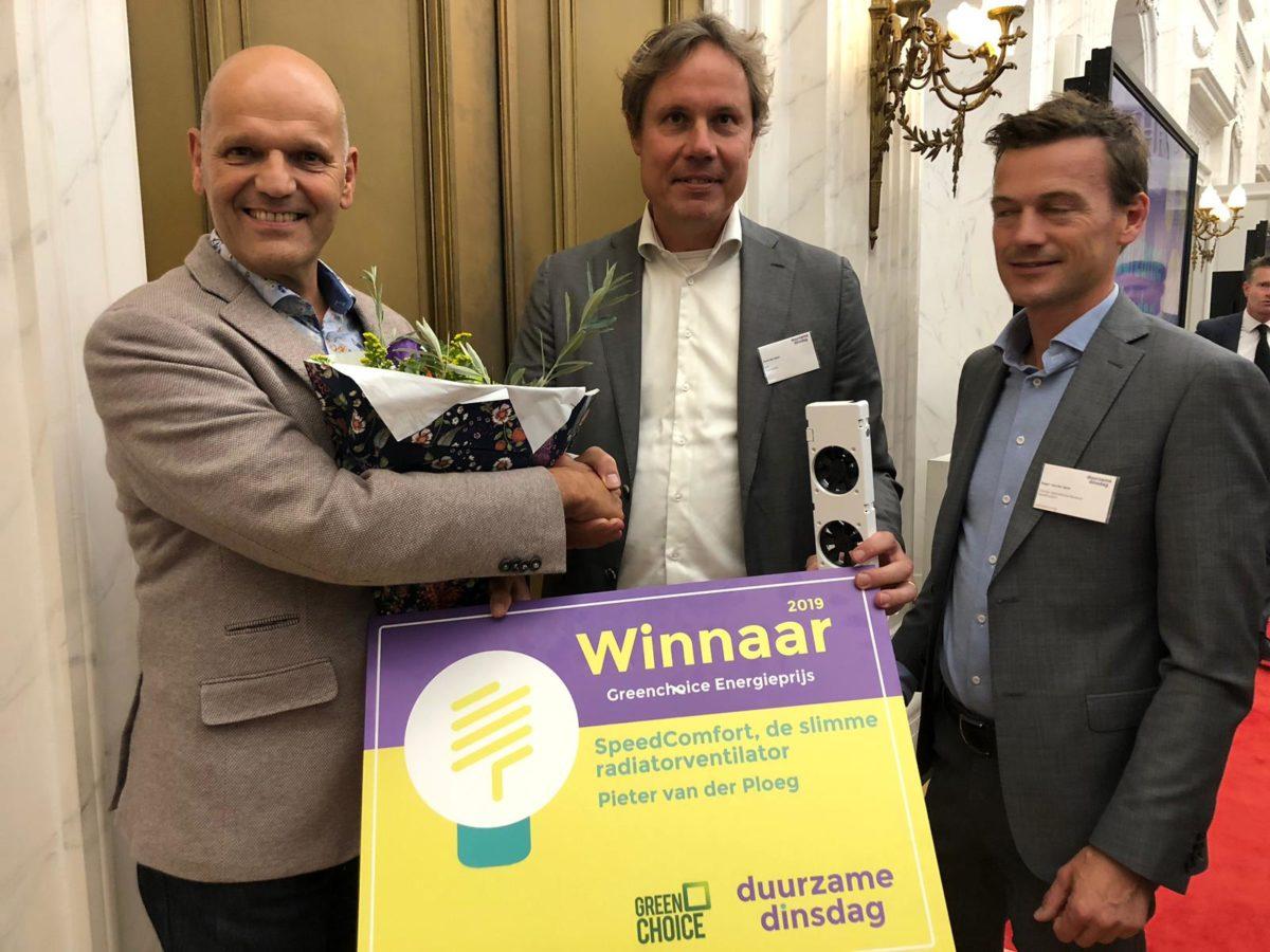 Greenchoice Energieprijs 2019 is voor Freon SpeedComfort!