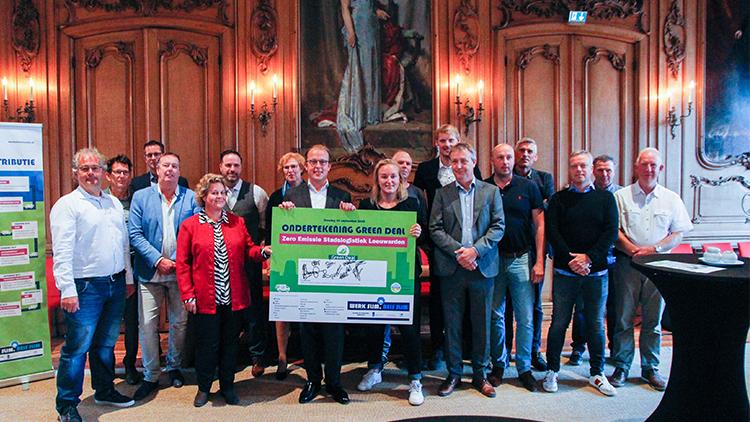 Royal HaskoningDHV helpt gemeente Leeuwarden bij Green Deal Zero Emissie Stadslogistiek