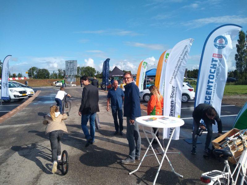 Elfwegentocht On Tour tijdens open dag Energie Kenniscentrum Leeuwarden groot succes