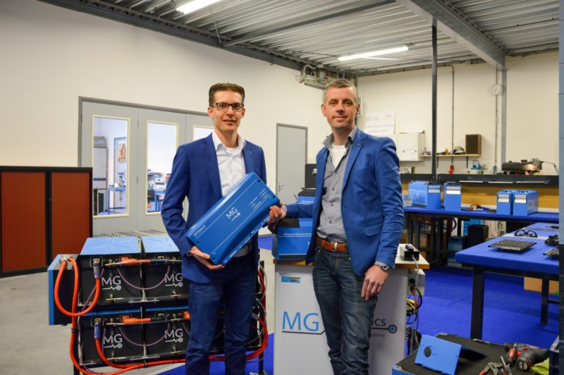 MG Energy Systems in race voor Gamechangers Innovation Award