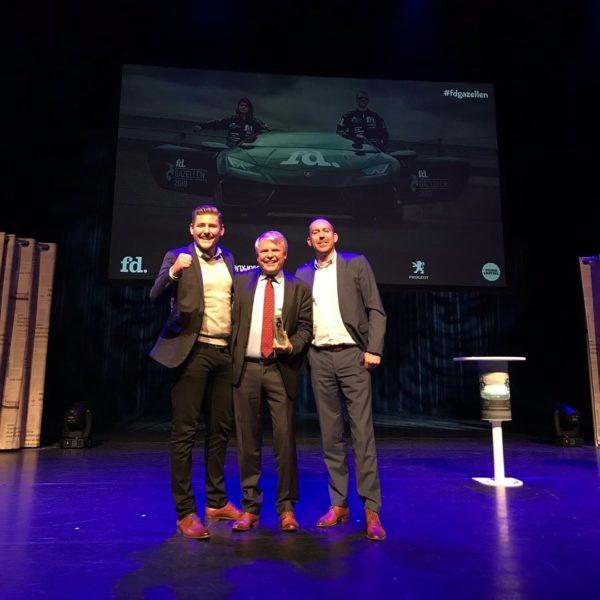 Freon Wits Vastgoedonderhoud Noord wint zilver FD Gazelle Award