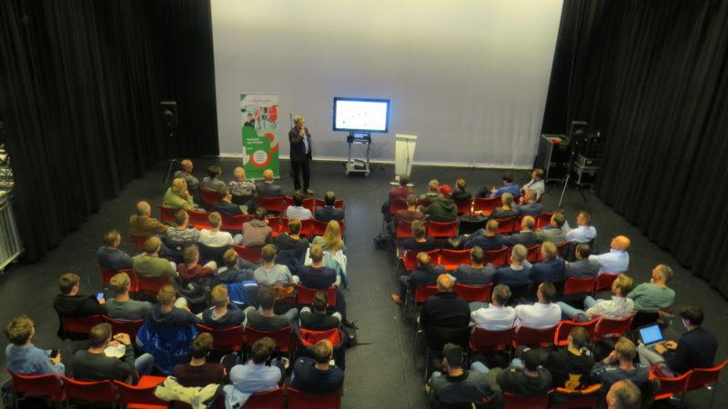Ronald Spoelstra en Joost Straat vertellen graag hoe je gebouwen energiepositief kunt maken.