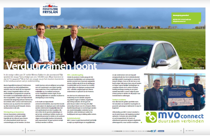 Freonen volop in schijnwerpens in november-editie Ondernemend Friesland