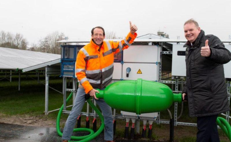 Wetterskip neemt zonnepanelen op rioolwaterzuivering Leeuwarden in gebruik