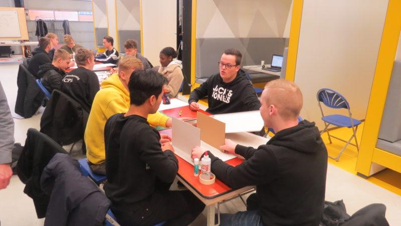 Studenten ROC Friese Poort bedenken plannen voor CO2-neutrale onderwijsinstelling