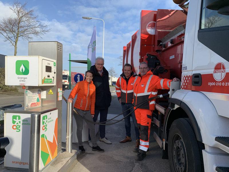 OrangeGas opent eerste groengastanklocatie in Freonen-gemeente Waadhoeke