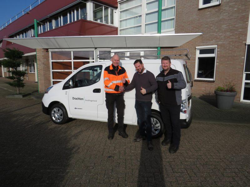 Freon ABD Renault Nissan Dacia levert elektrisch voertuig aan Freon Smallingerland