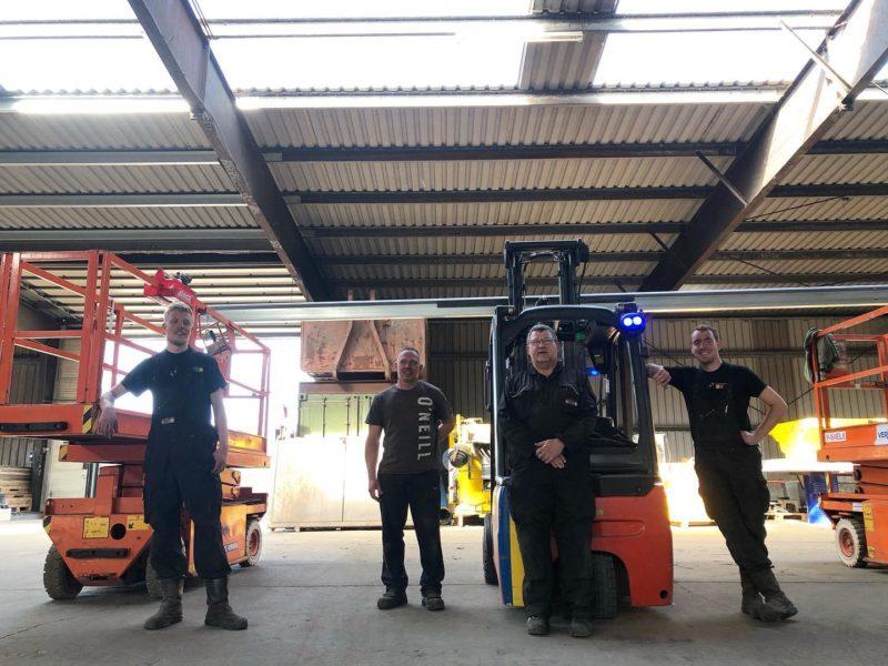 Freonen ASN Installaties en Mannen van Staal werken samen aan zonnepanelen-project