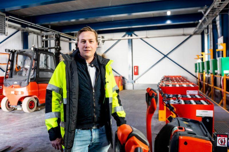 Bouwbedrijf Lont realiseert acculaadstation en compressieruimte voor klant Frisia Zout