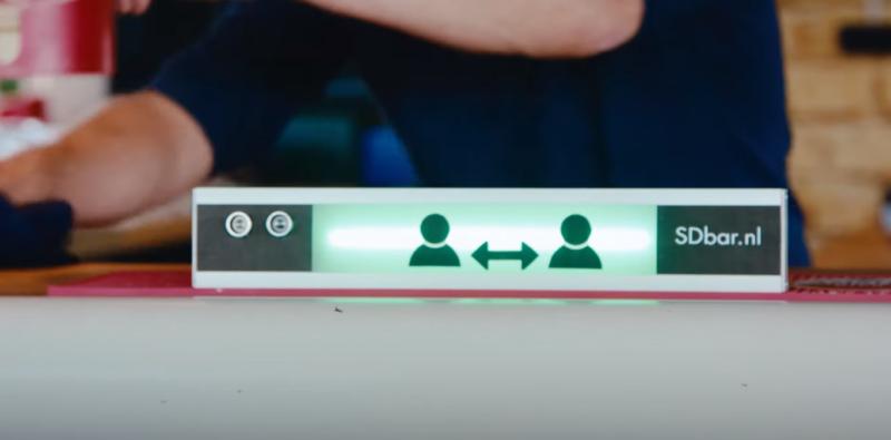 Freon IdFrm ontwikkelt SDbar: hulpmiddel voor 'anderhalvemetersamenleving'