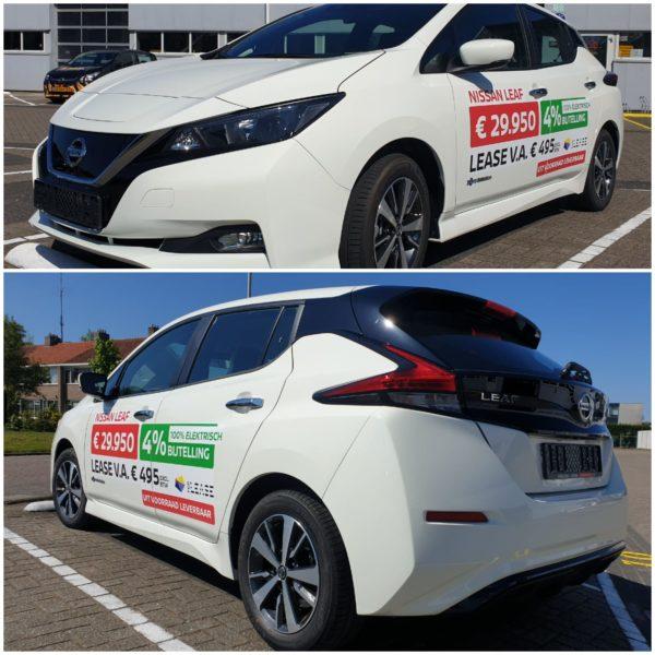 Aantrekkelijk aanbod Autogroep Haaima: elektrische Nissan Leaf Acenta (2019) met slechts 4% bijtelling
