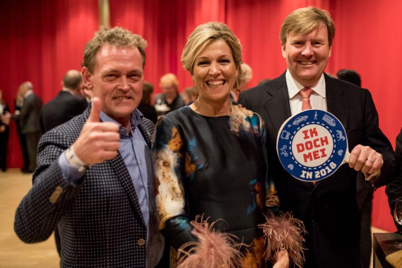 Bouwe de Boer, Koningin Máxima en Koning Willem-Alexander