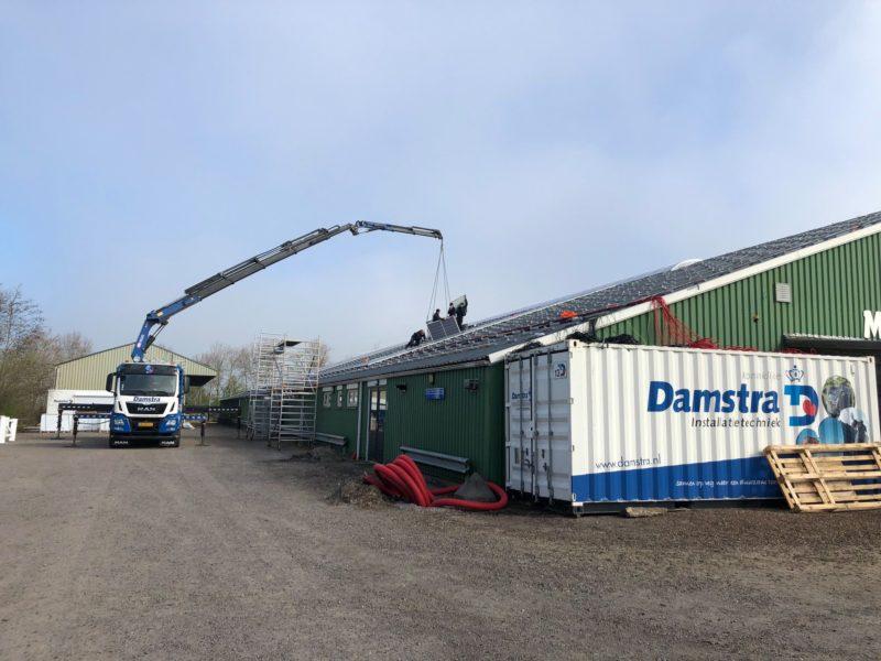 Koninklijke Damstra Installatietechniek sluit zich aan bij Freonen fan Fossylfrij Fryslân
