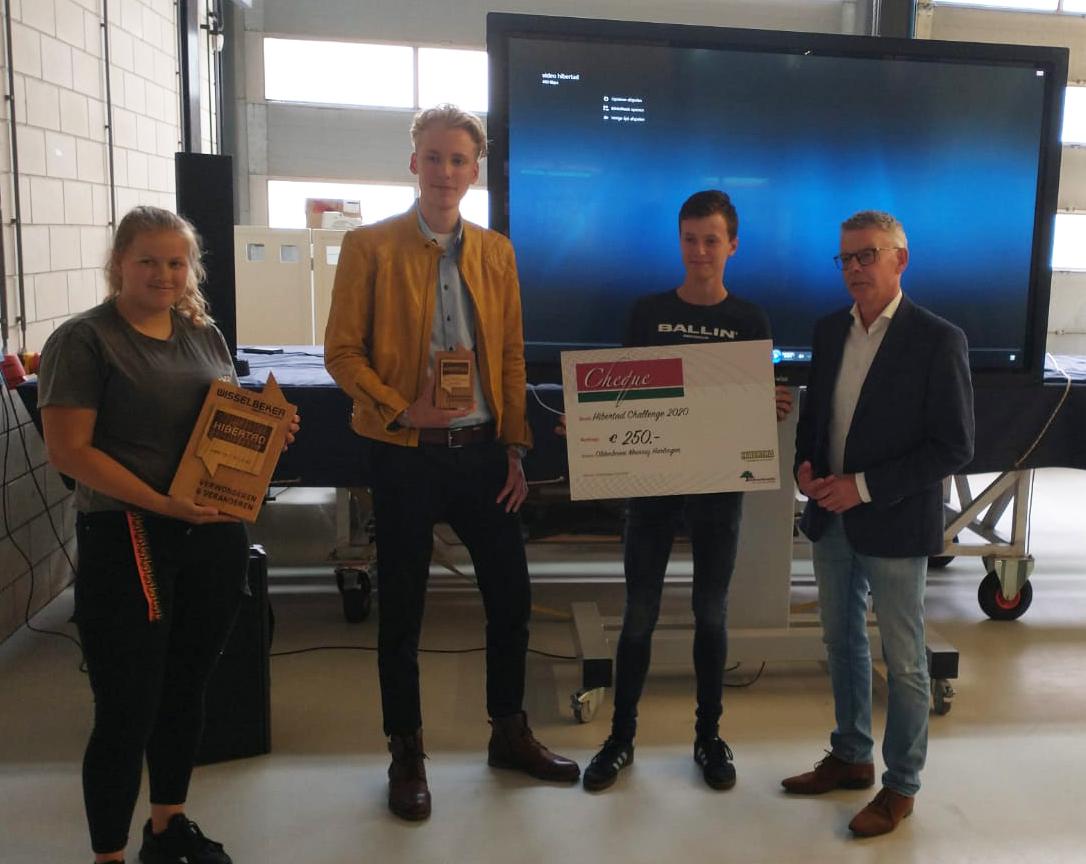 Bouwkunde-studenten van Freon ROC Friese Poort winnen Hibertad Challenge 2020