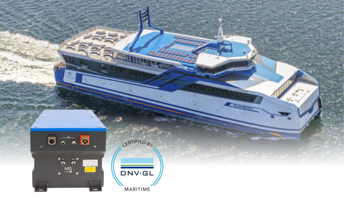 DNV-GL-certificering voor RS-batterijsysteem Freon MG