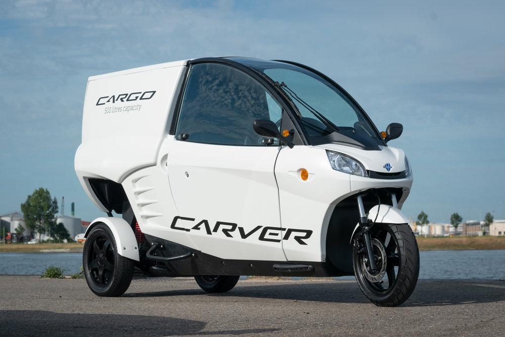 Freon Carver lanceert uniek elektrisch bezorgvoertuig Carver Cargo