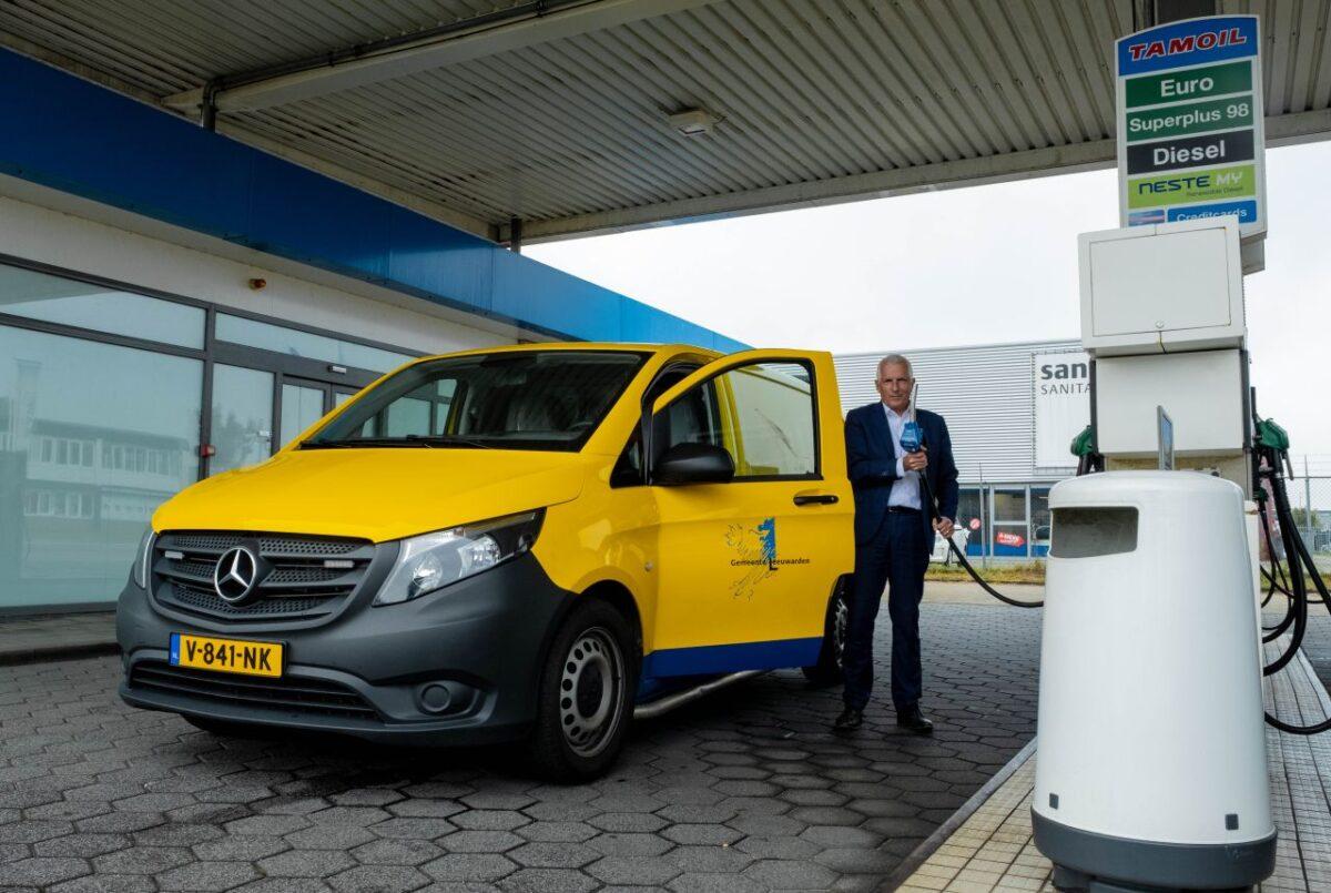 Gemeente Leeuwarden gaat met dieselauto's over op Neste MY Renewable Diesel