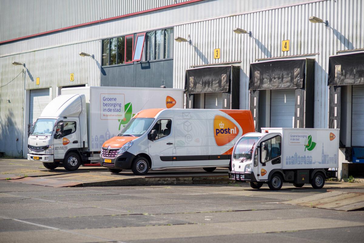 Deel voertuigen PostNL rijdt als proef op Neste MY Renewable Diesel