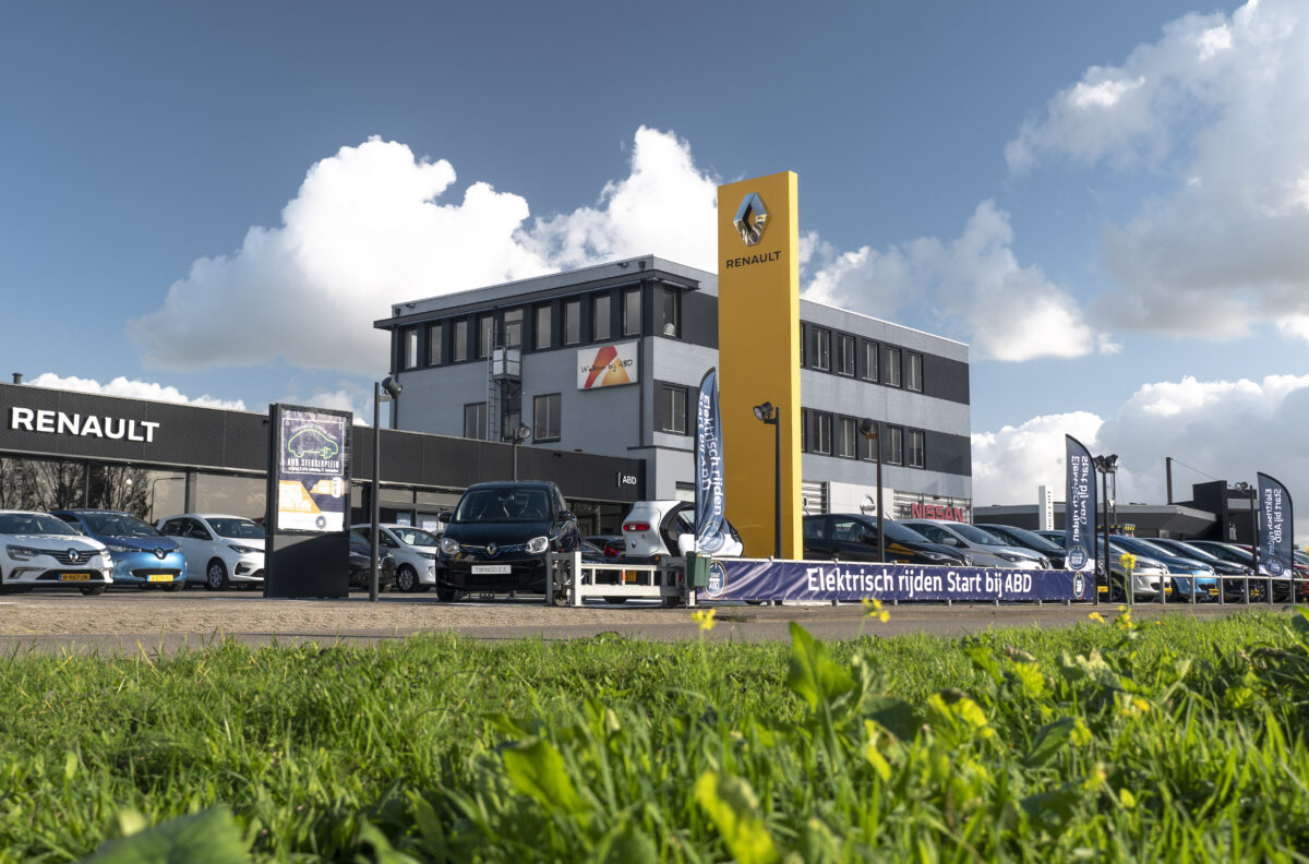 Uniek voor Noord-Nederland: het stekkerplein bij ABD Heerenveen