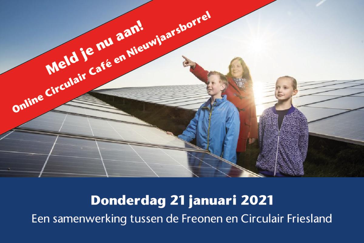 Online Circulair Café en Nieuwjaarsborrel op donderdag 21 januari 2020