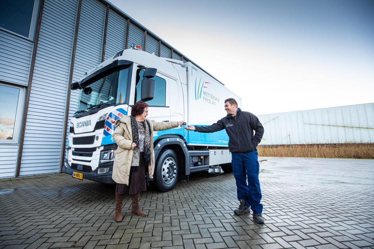 Duurzame onderhoudswagen voor Wetterskip Fryslân