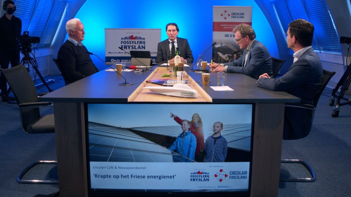 Terugkijken: Circulair Café donderdag 21 januari over krapte Friese energienet