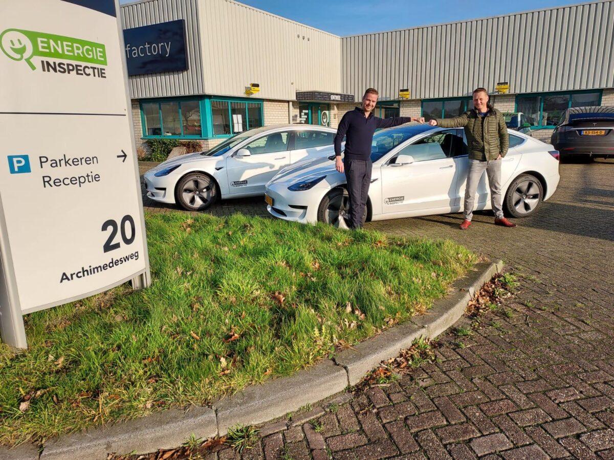 Energie Inspectie maakt gebruik van slimme mobiliteitsoplossingen Friesland Lease