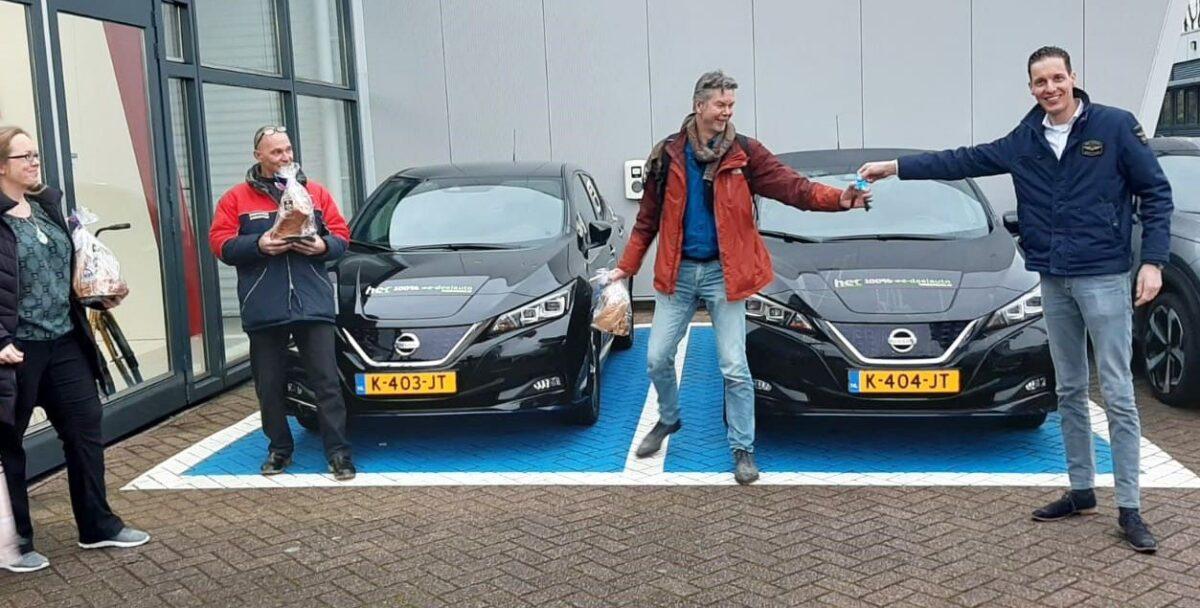 ABD Renault Nissan Dacia en Friesland Lease leveren elektrische auto's aan energiecoöperatie