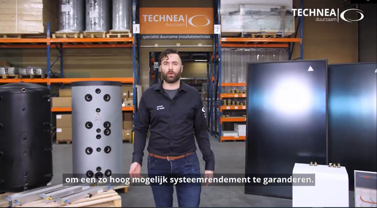 Technea zet spotlights op voordelen thermische zonne-energie