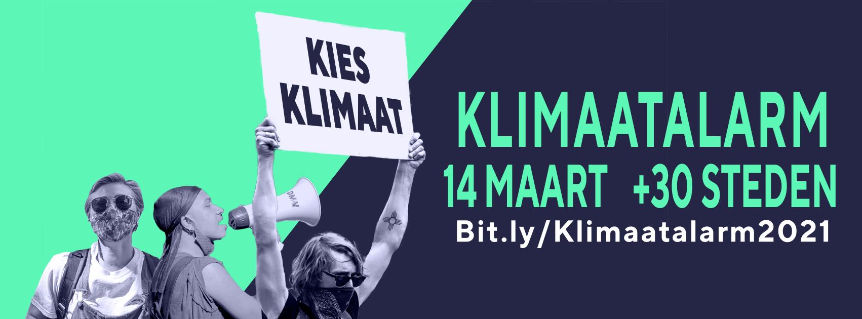 Ingezonden: Fryslân slaat 14 maart Klimaatalarm, doe je mee?