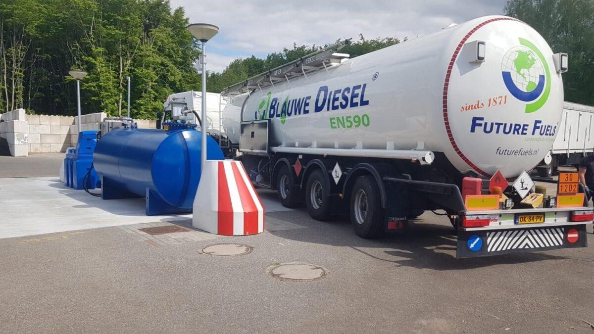 Provincie Groningen bespaart honderden tonnen CO2 door gebruik Neste MY Renewable Diesel