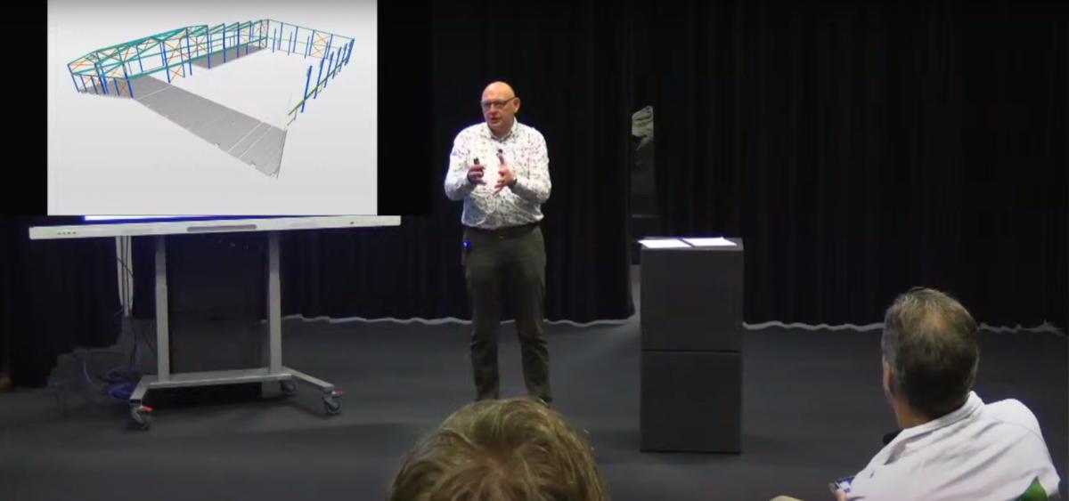 Inspiratie over duurzame bouwsector tijdens lezing ROC Friese Poort Centrum Duurzaam