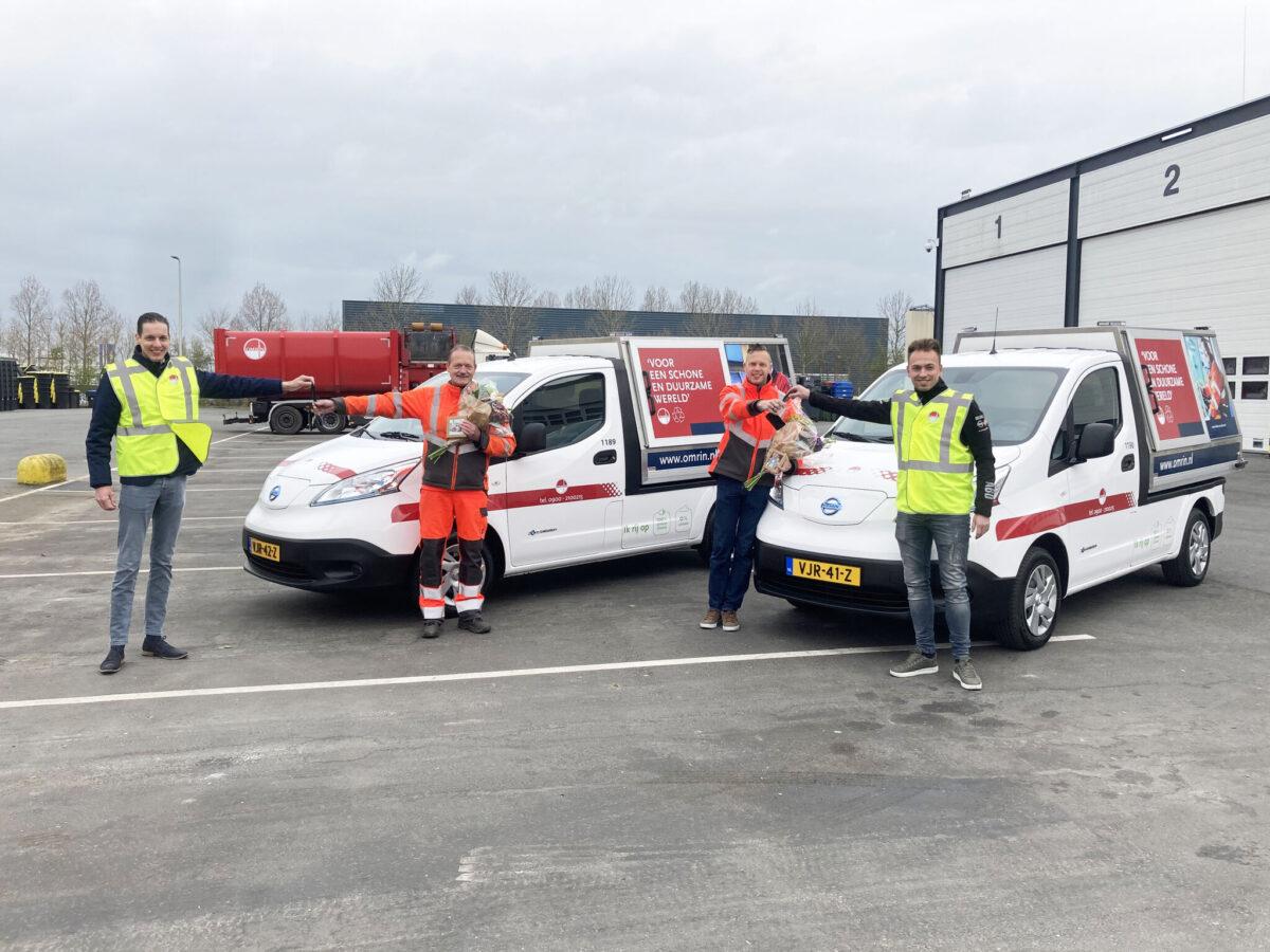 Freonen-samenwerking: ABD levert elektrische auto's aan Omrin