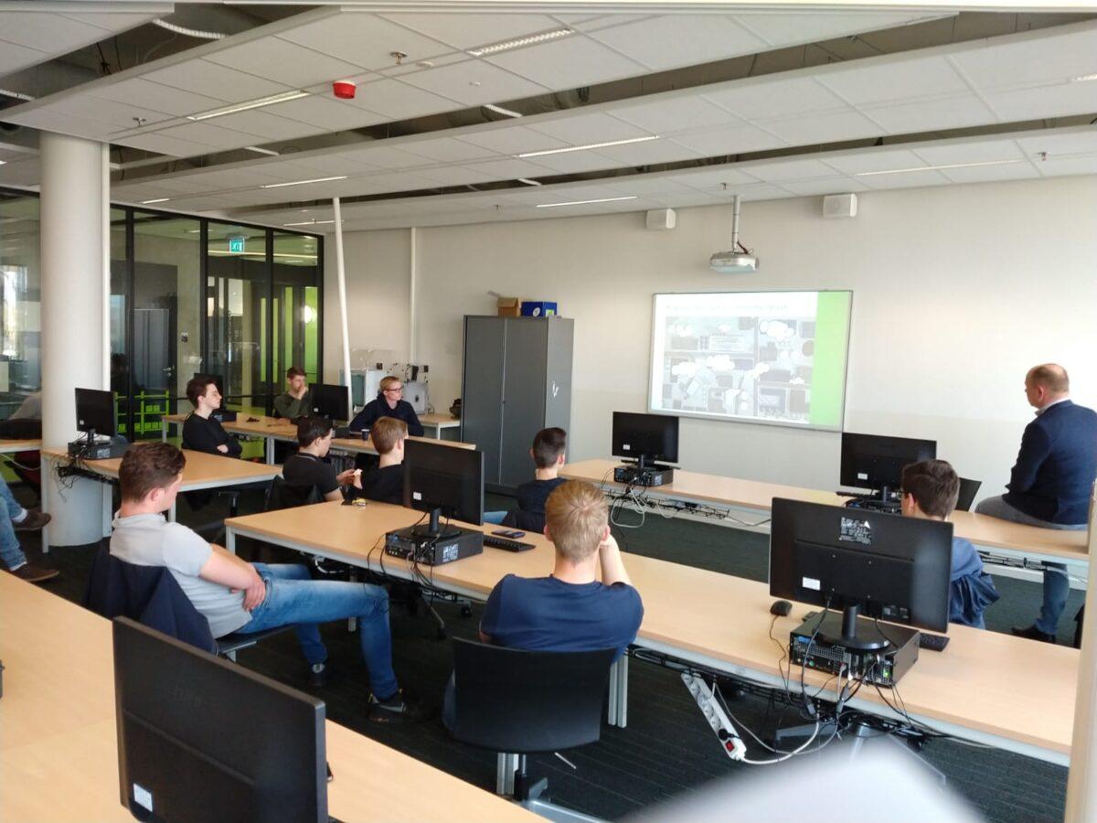 DonkerVeenstra verzorgt gastles voor studenten ROC Friese Poort