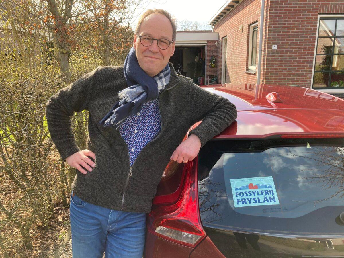Ik rij blij fossielvrij: Hinne Wagenaar