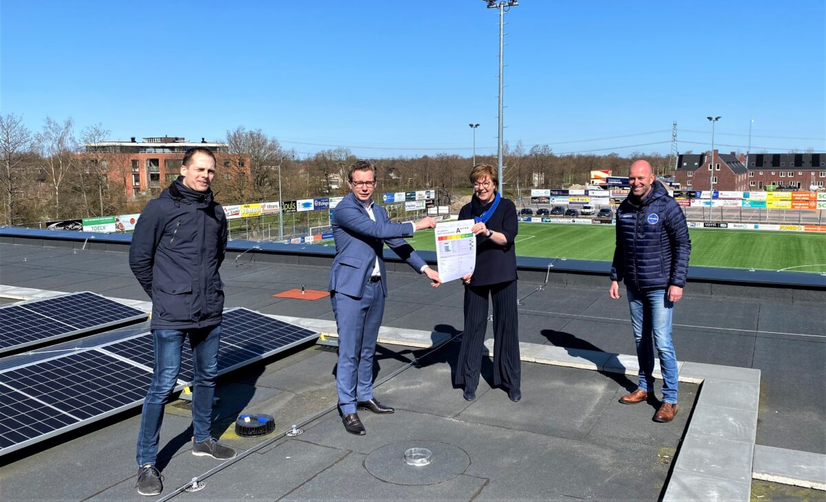 Nije Westermar in Freonen-gemeente Tytsjerksteradiel meest duurzame sportlocatie van Fryslân