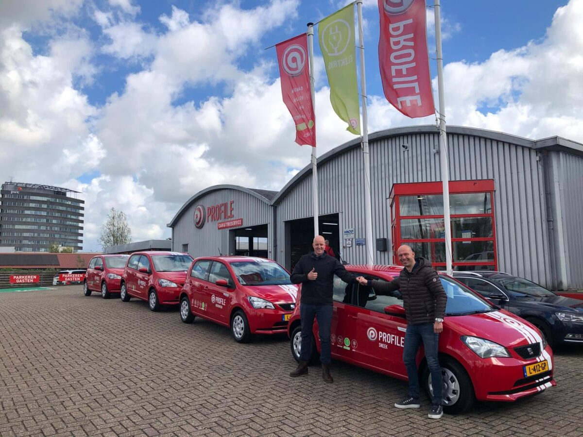 Lokale samenwerking: Bourguignon Lease levert elektrische auto's aan Profile Leeuwarden