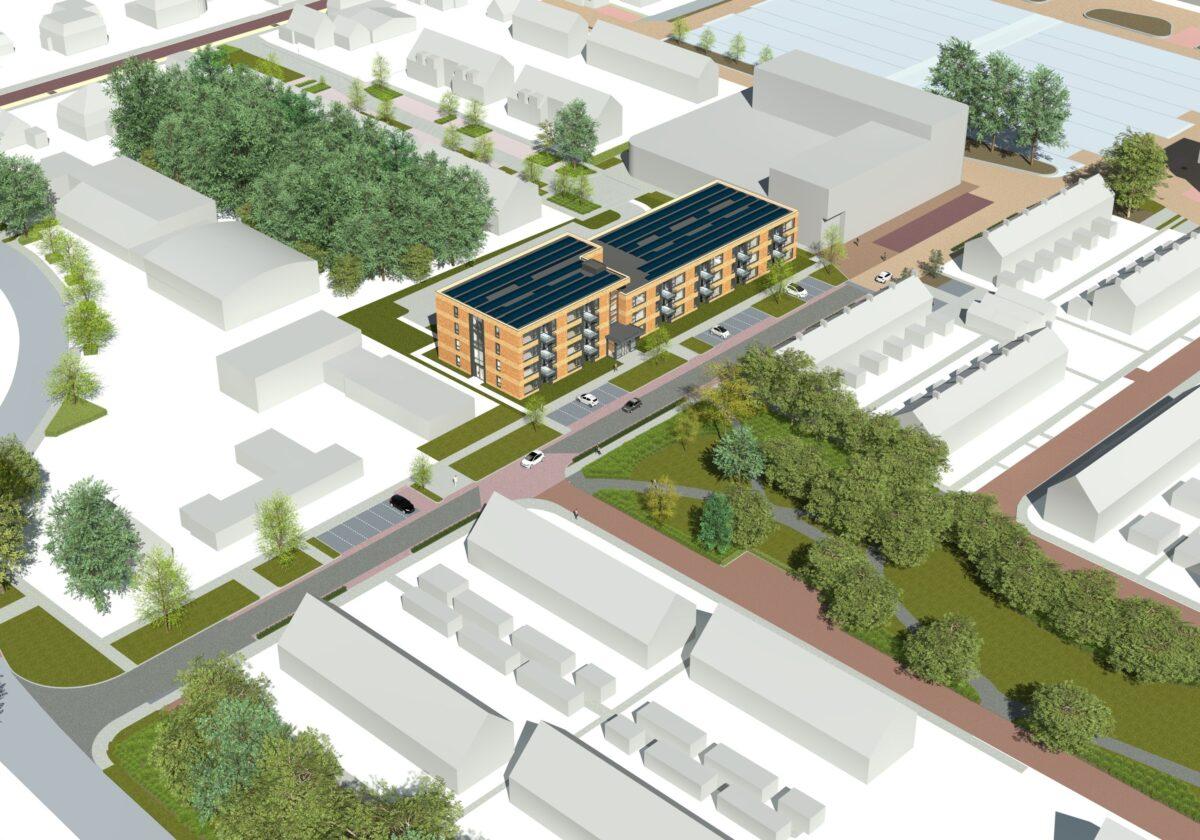 Bouwgroep Dijkstra Draisma bouwt 39 duurzame en gasloze appartementen in Burgum