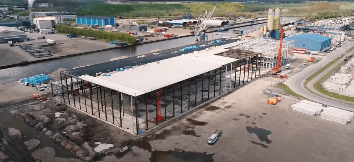 Bouw Woningfabriek Van Wijnen ligt op schema