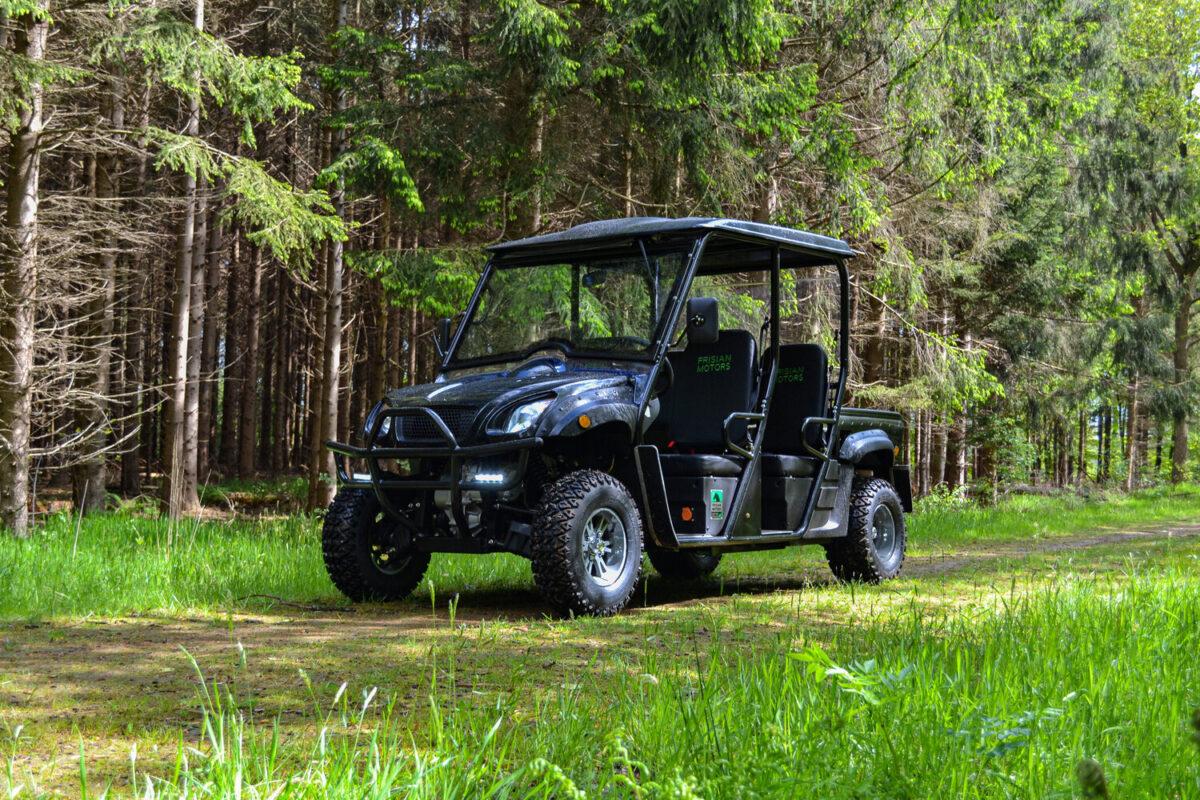 Ingezonden: Frisian Motors brengt eerste elektrische 4WD 4-zitter van Europa op de markt