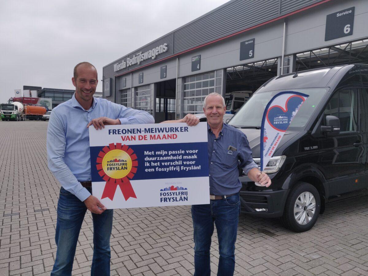 Freonen-medewerker van de maand augustus 2021: Eelke Jellema van Wierda